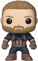 Funko, Figura Coleccionable Capitán America, Marvel Infinity War