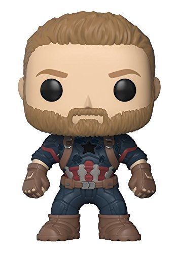 Funko Pop Marvel: Avengers Infinity War-Captain America Coll