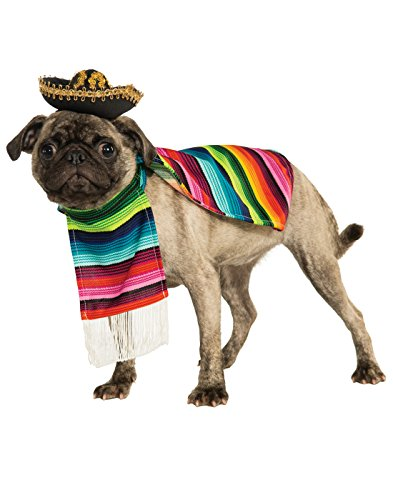 Rubie's Pet Costume, Small, Mexican Serape -