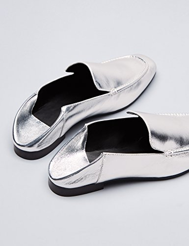 Argent Femme silver Find Mocassins Mules q8wpS