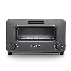 "BALMUDA Steam toaster oven ""BALMUDA The Toaster"" K01E-KG (Black)【Japan Domestic genuine products】"