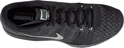 Nike Mens Air Max Scarpe Da Allenamento Typha Nero / Argento Metallizzato-m