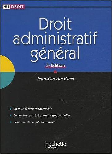 Droit administratif général pdf