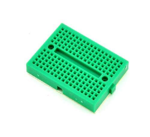 BELONG Mini Green Solderless Prototype Breadboard 170 Tie-Points for Arduino Shield
