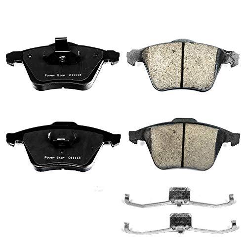 Power Stop 17-915B, Z17 Evolution Ceramic Front Brake Pads (Mazdaspeed 2011 3 Brake)