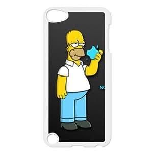 iPod Touch 5 Case White Homer Simpson's K2758347