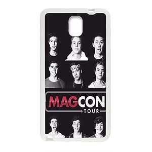 Magcon Tour Fashion Comstom Plastic case cover For Samsung Galaxy Note3