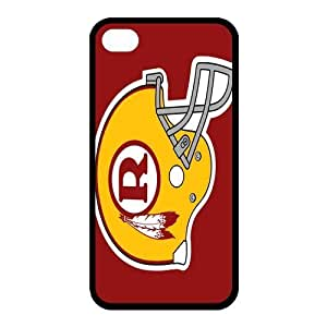 Custom Washington Redskins NFL Series Back Cover Case for iphone 4,4S JN4S-1393
