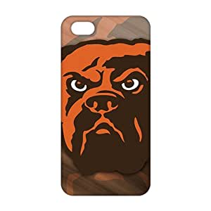 SHOWER 2015 New Arrival cleveland browns logo 3D Phone Case for iPhone 5S