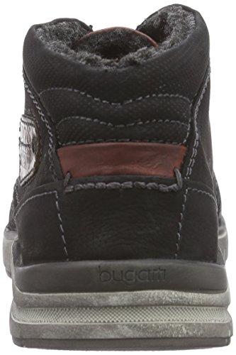 Bugatti R25515 Herren Hohe Sneakers Schwarz (schwarz 100)