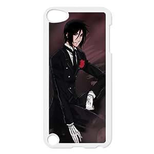 ipod 5 phone case White Black Butler MMD4858996
