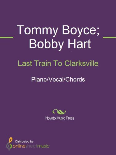 Last Train To Clarksville Kindle Edition By Bobby Hart The