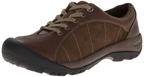 KEEN Women's Presidio Oxford,Cascade Brown/Shitake,9.5 M US