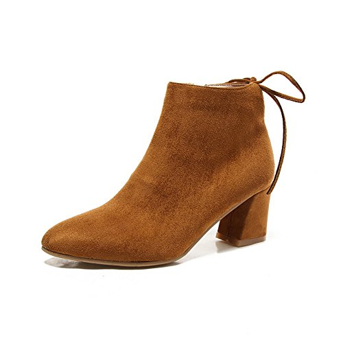 maymeenth-womens-ankle-high-solid-lace-up-pointed-closed-toe-kitten-heels-boots-brown-40