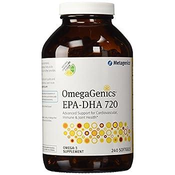 Image of Metagenics EPA-DHA 720 Lemon 240 softgels Health and Household