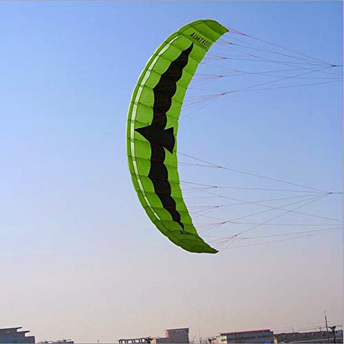 Free Shipping 5sqm Large Quad Line Power Kite Flying Toys for Adults Nylon Kite Surfing