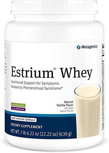 Metagenics – Estrium Whey, Natural Vanilla Flavor 22.5 oz Powder