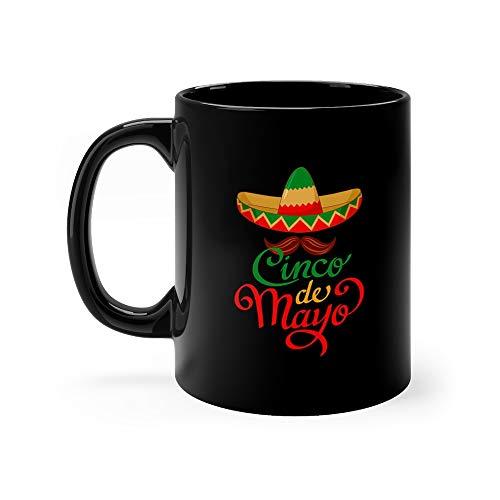 Cinco De Mayo Sombrero Symbol Sombreros Tea Mugs Ceramic Cup 11oz