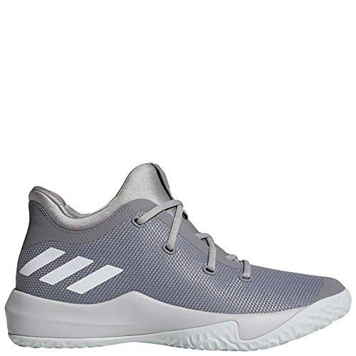 adidas Performance Men's Rise up 2 Basketball Shoe, Grey Three/White/Medium Grey Heather, 9.5 M (Performance Rise)