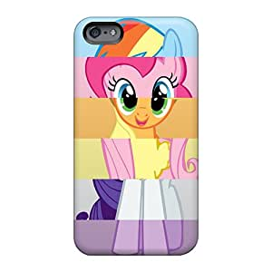 Apple Iphone 6 Plus PZy2256WQsu Allow Personal Design Lifelike My Little Pony Friendship Is Magic Skin Anti-Scratch Hard Cell-phone Cases -icase88