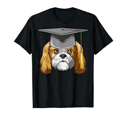 Shih Tzu Graduation Graduate Hat Shih Tzu T-Shirt