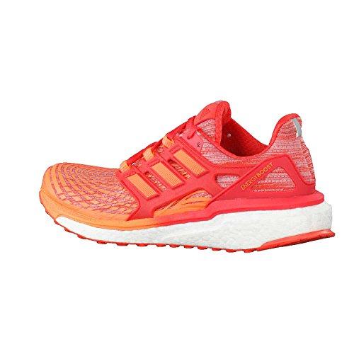 adidas Damen Energy Boost W Traillaufschuhe, Rosa, 43.3 EU Orange (Hi-res Orange S18)