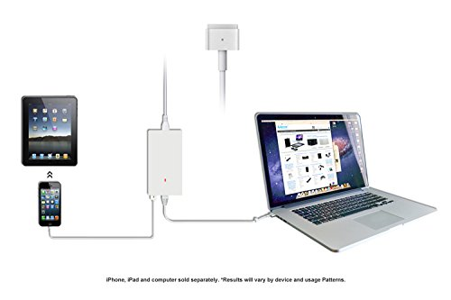 Lizone Ultra Slim 85W 65W 45W Magsafe 2 Power Ac Adapter Charger For Apple MacBook Pro Air AC USB IPad IPhone