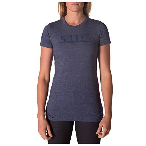 5.11 Camiseta Táctica Legacy Tonal para mujer, tela 100% algodón, gráficos antideslizantes, estilo 31014AAKF
