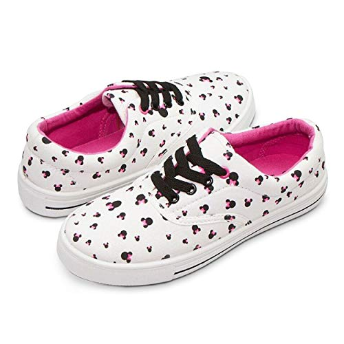 Disney Junior Teen Women Low Top Mickey & Minnie Fashion Sneakers - Rubber Soled Pink -