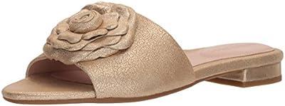 Taryn Rose Women's Violet Shimmer Metallic Slide Sandal