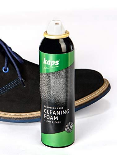 Kaps Mousse de Nettoyage pour Chaussures, nettoyant nettoyant pour Chaussures et Bottes, Tissu et Toile de Nubuck suède… 3