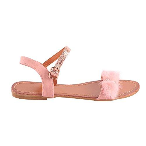 Primtex - Sandalias de vestir para mujer Rose
