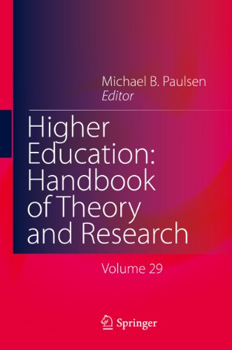 Download Higher Education: Handbook of Theory and Research: Volume 29 Pdf