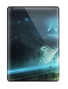 Awesome Tron Legacy Flip Case With Fashion Design For Ipad Air