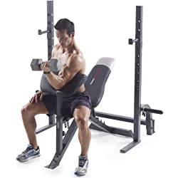 Pro 395 Olympic Bench With Adjustable Ergonomic Utility Bench