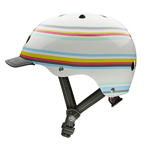Nutcase - Patterned Street Bike Helmet for Adults, Beach Bound, Medium