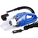 Portable Mini 12V 120W Power Wet and Dry Dual-use Super Suction Handheld Car