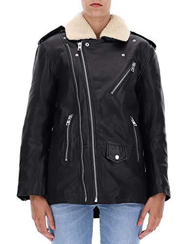 amp; Wgcb1402f Giacca Outerwear Voltaire Nero Zadig Pelle Donna qxfdSxw