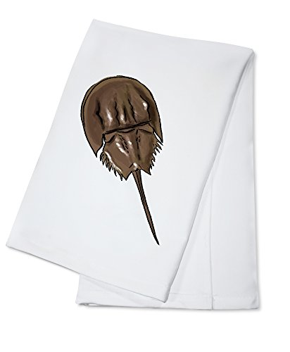 (Horseshoe Crab - Icon (100% Cotton Kitchen Towel))