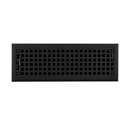 4x8 black floor register - 6