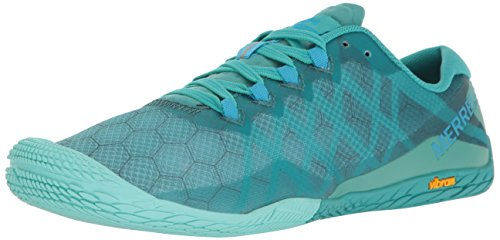 Merrell Women's Vapor Glove 3 Trail Runner, Baltic, 9 M ()
