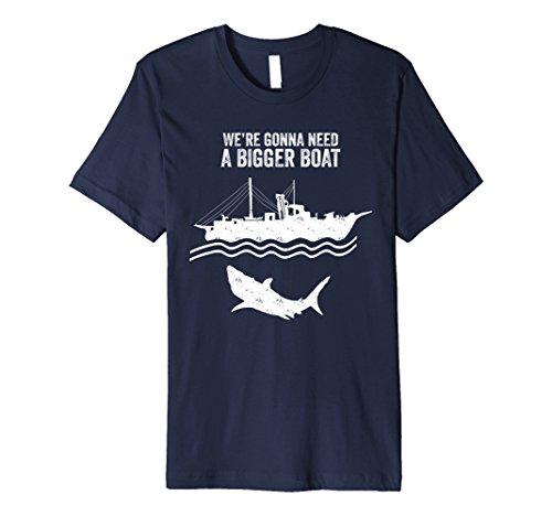 Mens We're Gonna Need A Bigger Boat T-Shirt Fisherman Gifts Medium Navy