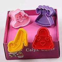 Moule Mickey et Minnie pour Fondant Gâteau Cookie DIY Rose