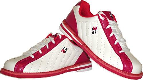 e 36 destrorsi e mancini 48 scarpe Kicks 4 rosa in uomo 3 donna per scarpa Bowling taglia Bianco colori G zaR8XxnRq
