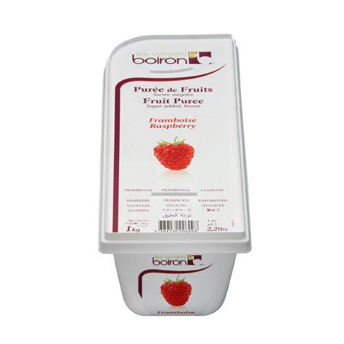 Raspberry Fruit Puree Frozen - 2 x 1 Kilo Per Case