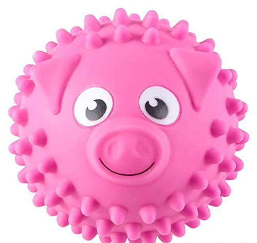 5'' PIG KNOBBY BAL, Case of 72 by DollarItemDirect