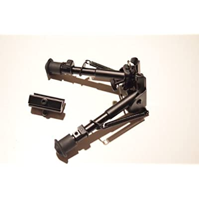 """AcidTactical?Heavy Duty BullDog2 Bipod - Picatinny or Sling Stud Mountable - Extendable to 9"""" by Acid Tactical"""