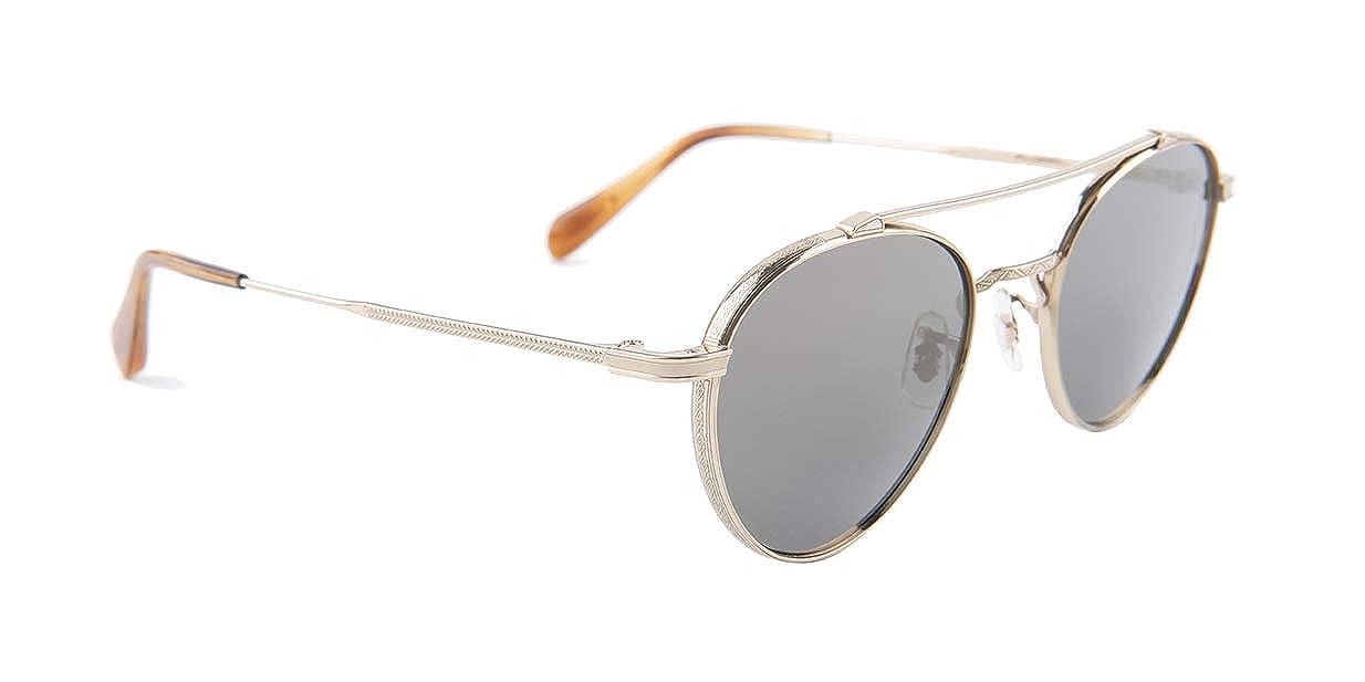 bf6009c55028e Amazon.com  Oliver Peoples Watts Sun Gold Gray Lens Sunglasses  Clothing