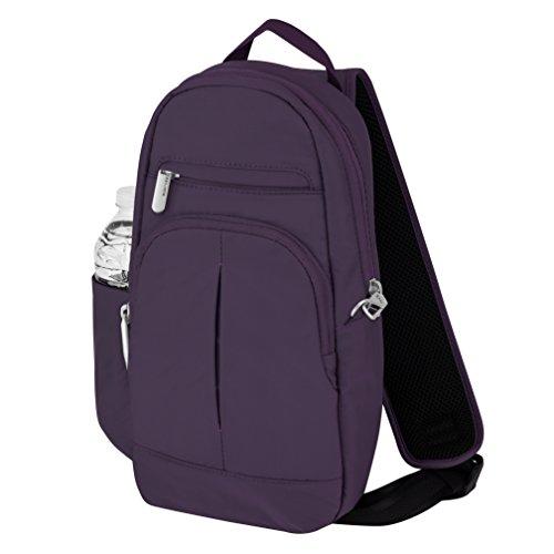 Travelon Anti-Theft Classic Lite Sling, Purple