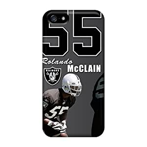 New Style Buytcases Hard Case Cover For Iphone 5/5s- Oakland Raiders